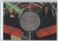 Qui-Gon Jinn, Darth Maul #/150