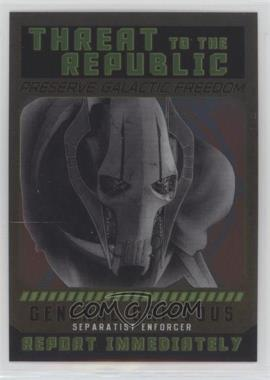 2015 Topps Star Wars Chrome Perspectives: Jedi vs. Sith - Sith Fugitives #4 - General Grievous