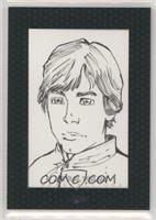 Chris Elliott, (Luke Skywalker) #/1