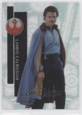 2015 Topps Star Wars High Tek - [Base] - Star Destroyer #10 - Form 1 - Lando Calrissian
