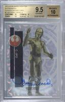 Classic - Anthony Daniels as C-3PO [BGS 9.5 GEM MINT] #/25