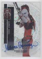 Prequel - Michonne Bourriague as Aurra Sing #/25