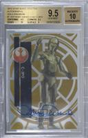 Classic - Anthony Daniels as C-3PO [BGS 9.5 GEM MINT] #/50