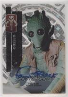 Classic - Paul Blake as Greedo [Noted] #/75