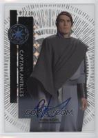 First-Time On-Card - Rohan Nichol as Captain Antilles #/75