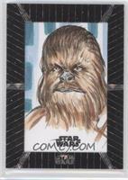 Unknown Artist (Chewbacca) #/1