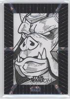 Unknown Artist (Gamorrean Guard) #/1