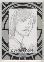 Unknown Artist (Luke Skywalker) #/1