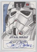 Eric Lehtonen (Jay Sanders as At-At Pilot) #/1