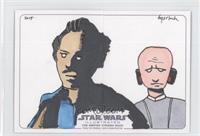 Bruce Gerlach (Lando Calrissian, Lobot) /1