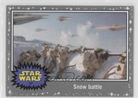 The Empire Strikes Back - Snow battle