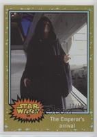 Return of the Jedi - The Emperor's arrival #/50