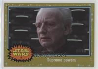 Attack of the Clones - Supreme powers #/50