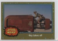 The Force Awakens - Rey takes off /50