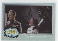 A New Hope - The end of Alderaan #/150