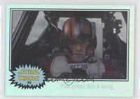 The Force Awakens - Poe pilots the X-wing #/150