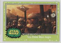 Attack of the Clones - The Clone Wars begin