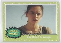The Force Awakens - Rey, Desert Scavenger