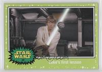 A New Hope - Luke's first lesson