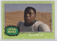 The Force Awakens - Finn on the run