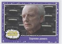 Attack of the Clones - Supreme powers