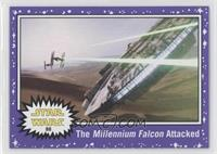 The Force Awakens - The Millennium Falcon Attacked