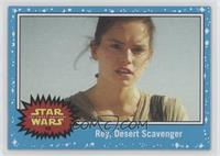 The Force Awakens - Rey, Desert Scavenger