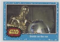 A New Hope - Droids on the run
