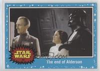 A New Hope - The end of Alderaan