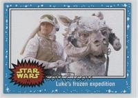 The Empire Strikes Back - Luke's frozen expedition