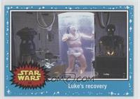 The Empire Strikes Back - Luke's recovery