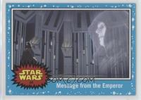 The Empire Strikes Back - Message from the Emperor