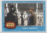 Return of the Jedi - Vader's inspection