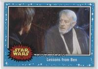 Return of the Jedi - Lessons from Ben