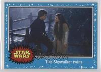 Return of the Jedi - The Skywalker twins