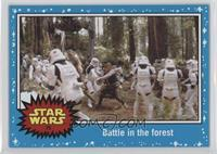 Return of the Jedi - Battle in the forest