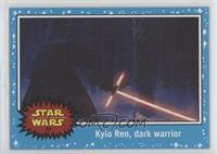 The Force Awakens - Kylo Ren, dark warrior