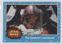 The Force Awakens - Poe Dameron's excitement