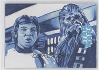 Chris Henderson (Han Solo, Chewbacca) /1