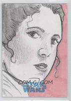 Linzy Zorn (Princess Leia Organa) #/1