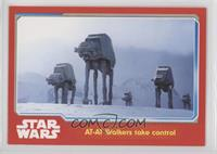 AT-AT Walkers take control