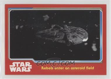 2015 Topps Star Wars: Journey to The Force Awakens UK - [Base] #66 - Rebels enter an asteroid field