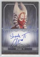 Orli Shoshan as Shaak Ti