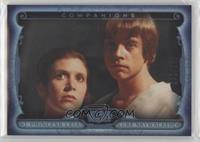 Princess Leia, Luke Skywalker #/299