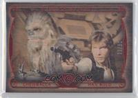 Chewbacca, Han Solo /50