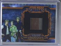Han, Princess Leia, Luke, Shield Bunker, Frame #/155