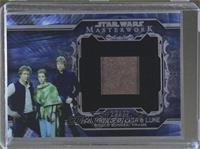 Han, Princess Leia, Luke, Shield Bunker, Frame /77