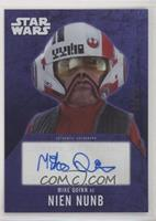 Mike Quinn as Nien Nunb #/25