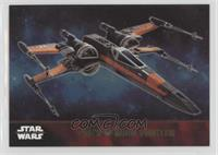 Poe's X-wing Fighter #/100