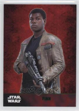 2015 Topps Star Wars: The Force Awakens Series 1 - [Base] - Lightsaber Green #2 - Finn
